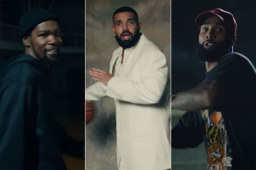 Kevin Durant dominates Drake during 1-on-1 game in music video