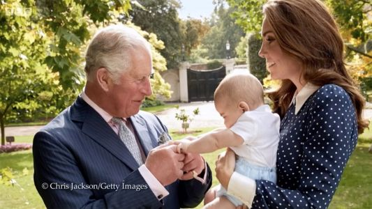 A New Royal Photo of Prince Louis Has Been Released, and It's Beyond Precious