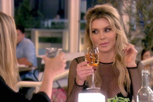 "Brandi Glanville Says Denise Richards Was ""Aggressor""; Denise Hangs With Brandi's Enemy Joanna Krupa"