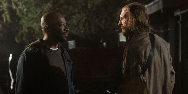 Hilariously, Morgan And Dwight Only Filmed Together For The First Time On Fear The Walking Dead