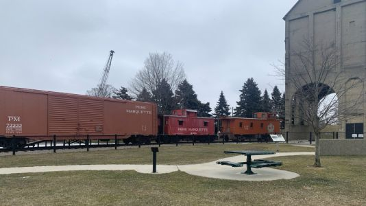 Historic train in Grand Haven targeted by vandals