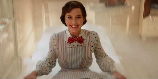 See The Awesome Way Emily Blunt Filmed That Mary Poppins Returns Bathtub Scene