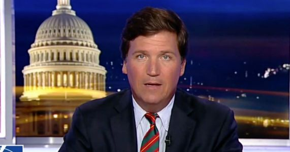 Tucker Carlson Scolds CNN's Stelter for Report on His Door After Mob Outside House: 'I Hope You're Ashamed'