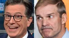 'Google It!': Stephen Colbert Taunts Jim Jordan With A Scathing Reminder Of His Past