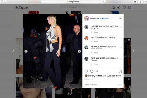 Photographer sues Miley Cyrus for allegedly stealing his picture