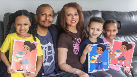 Kzoo family publishes books that highlight children of color