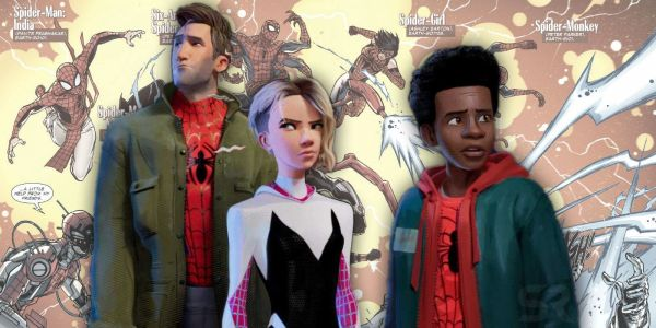 How Marvel's Original Spider-Verse Event Compares To The Movie