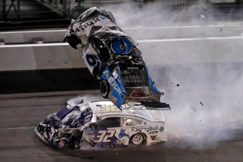 PHOTOS: Driver Ryan Newman hospitalized after horrific wreck at Daytona