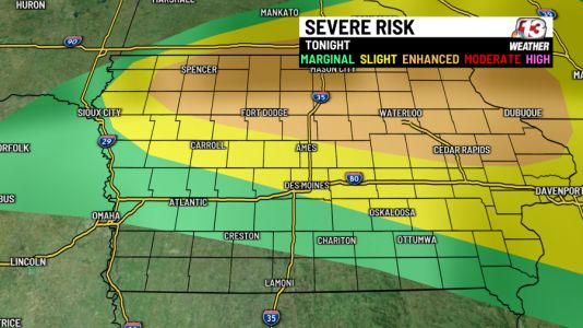 Extreme heat & severe storms on tap for Thursday