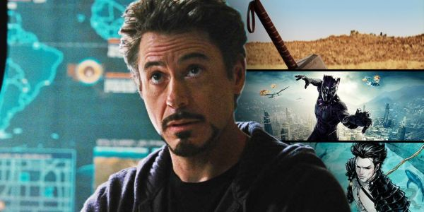 Every Easter Egg In Iron Man 2's SHIELD Map Explained