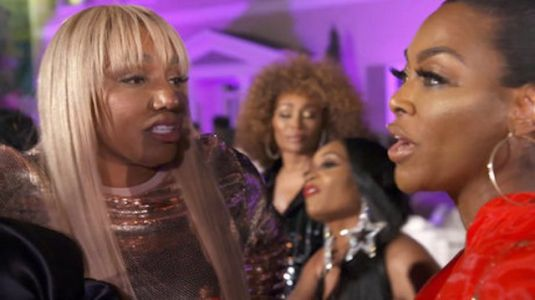 Kenya Moore Says Rumors About NeNe Leakes' Secret Boyfriend Are True