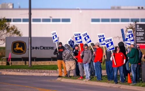 John Deere worker strike receiving community support: 'They're really the backbone to us'