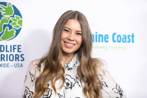 Bindi Irwin Shares Amazing Artwork of Dad Steve Holding Baby Grace on Her First Mother's Day