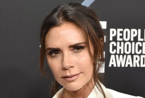 Victoria Beckham got a haircut in her car on the way to the People's Choice Awards