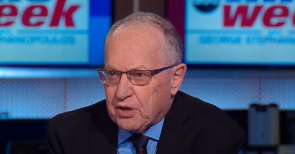 Alan Dershowitz Distances Himself From Trump Legal Team: 'I'm Not a Full-Fledged Member'
