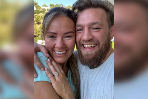 Down for the count: Connor McGregor engaged to longtime love Dee Devlin
