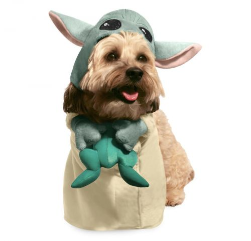 Your Pet Will Hate You For Putting Them in This Baby Yoda Costume, but Look How Cute!