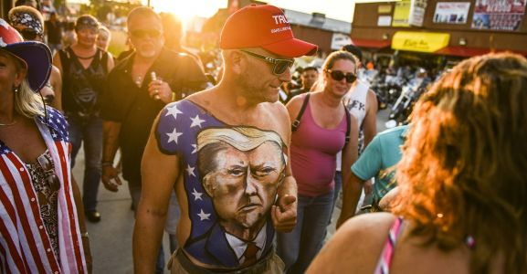 WATCH Maskless Bikers Party Down as 250,000 Expected For Sturgis Rally Amid Coronavirus Pandemic