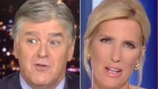 Laura Ingraham Trolls Sean Hannity On Live TV: 'Is That The White House Speaking, Or You?'