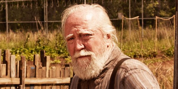Hershel on Set for Walking Dead Season 9 in New Photo