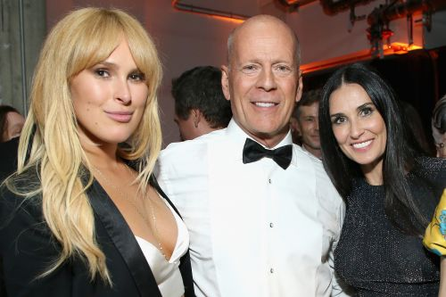 Bruce Willis and Demi Moore reunite for Rumer's 30th birthday