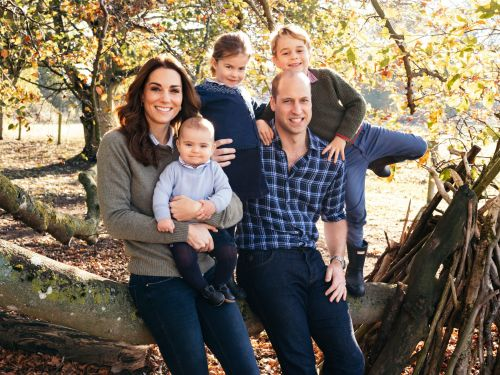 William and Kate's Family Christmas Card Photo Is Here, and Prince Louis Totally Steals the Show