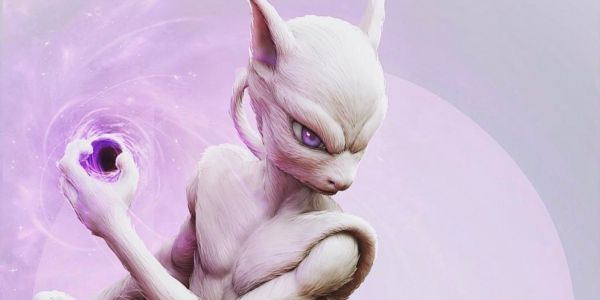 Fan Art Imagines How Mewtwo Might Look in Detective Pikachu